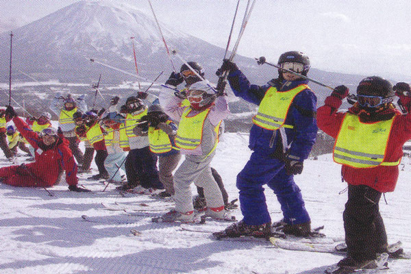 宿泊者は、スキー学校は、2割引になる